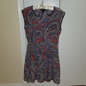 PRICEDROP! J. Crew Paisley Dress Size 4 Worn Twice